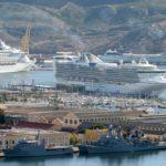 Cruceros en el puerto de Cartagena