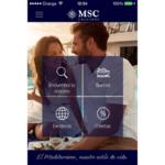 La nueva APP de MSC Cruceros