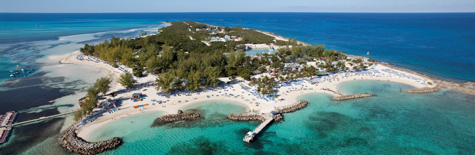 Aerial Coco Cay