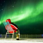 Aurora Boreal desde un crucero