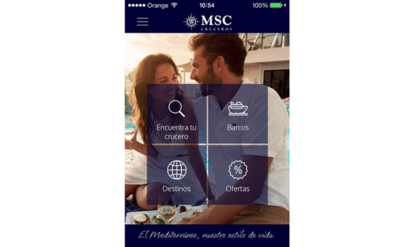 MSC-Cruceros-Android